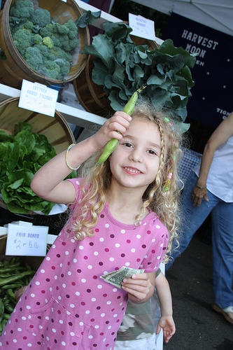 10 Things I Want To Teach My Daughter About The Importance of Shopping at the Farmer's Market