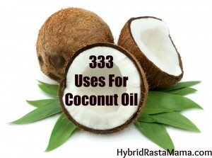 Jump Start Your Health With Coconut Oil. This is a compilation of over 80 coconut oil recipes and 30 informational coconut oil posts from HybridRastaMama.com.