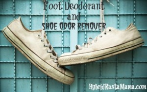 Foot Deodorant and Shoe Odor Remover: HybridRastaMama.com