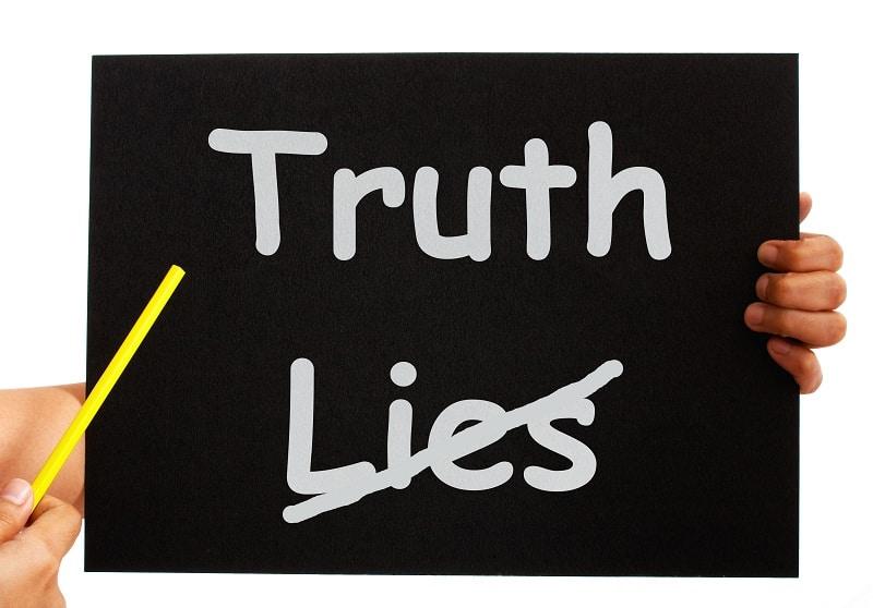 A Lie Is A Lie