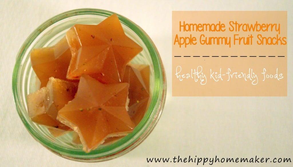 Strawberry Apple Gummy Fruit Snacks