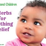 Herbs and Children – Eight Herbs for Teething Relief + Two Teething Rub Recipes