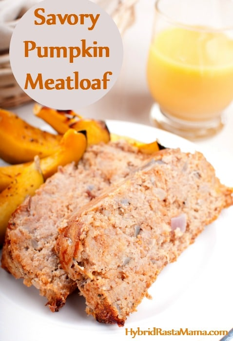 This savory gluten free pumpkin meatloaf is a family favorite that combines the rich flavors of fall and winter with the traditional goodness of a hearty meatloaf. Grain free and dairy free, this pumpkin meatloaf recipe can be doubled easily. From HybridRastaMama.com
