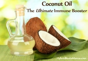 Coconut Oil - The Ultimate Immune Booster