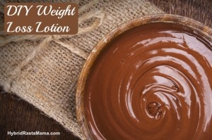 DIY Weight Loss Lotion