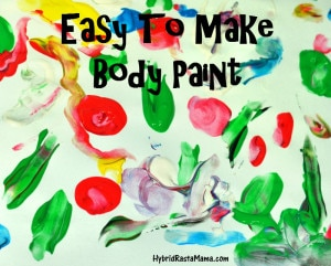 Easy To Make Body Paint