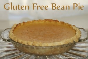 Ever heard of bean pie? Me neither. When I discovered it and took my first bite I was hooked for life. You will be too. This gluten free version from HybridRastaMama.com is divine.
