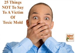 25 Things NOT To Say To A Victim Of Toxic Mold from HybridRastaMama.com
