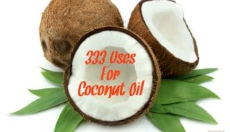 333 Uses For Coconut Oil! Who knew such a simple substance from nature could have this many uses and benefits. Come learn more over at HybridRastaMama.com