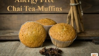Allergy Free Chai Tea Muffin Recipe fom HybridRastaMama.com