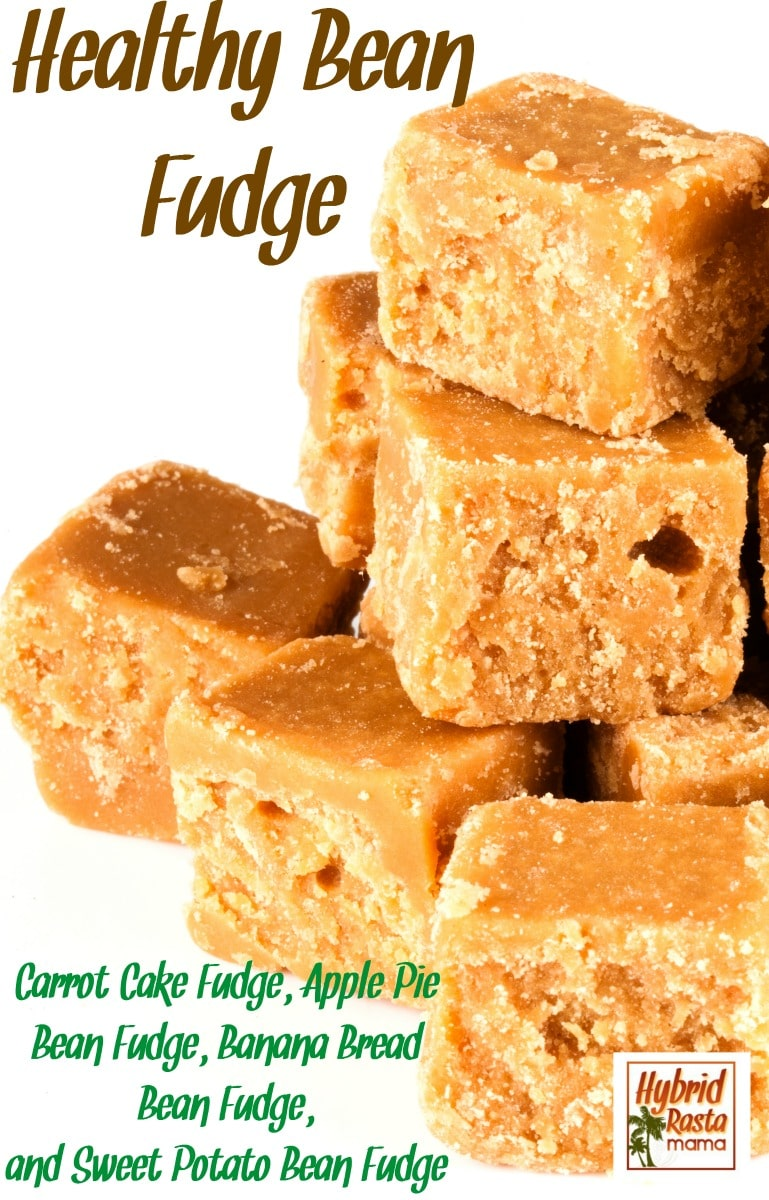 Love fudge? Wish you could eat more of it without the guilt? Now you can! Try one of the 4 Gluten Free Bean Fudge recipes. Healthy and delicious - they really satisfy! This bean fudge is vegan too. From HybridRastaMama.com.