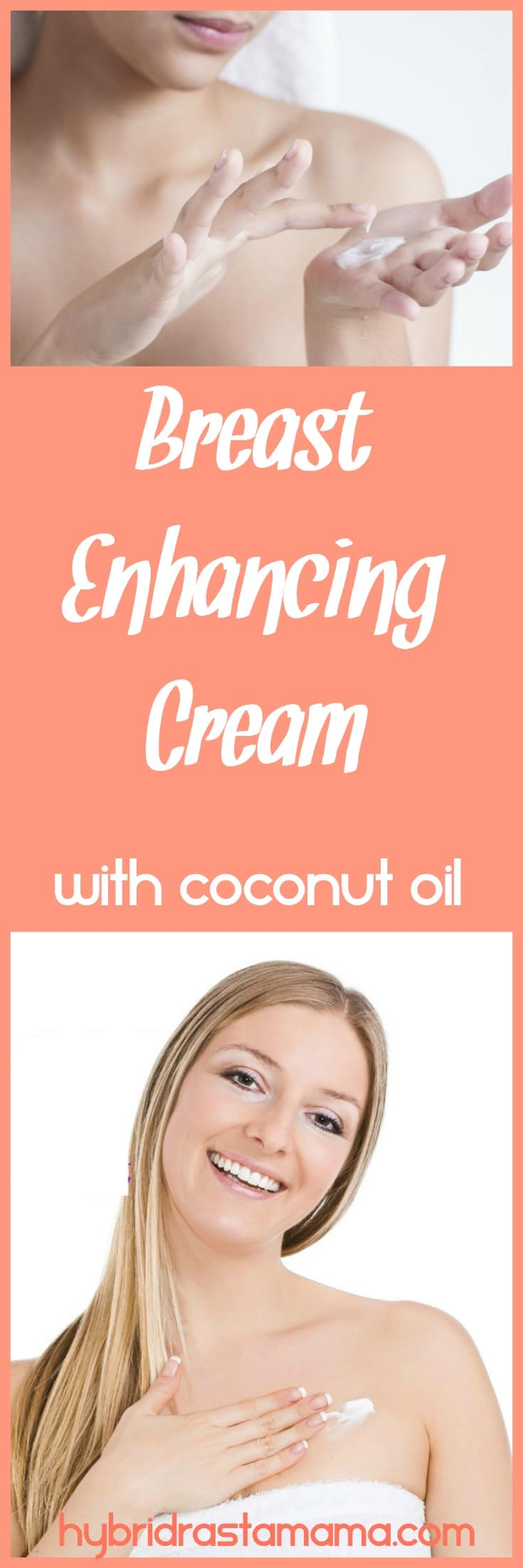 Saggy breasts? Tired breasts? Small breasts? Try these two coconut oil based recipes for breast enhancing cream. They will do wonders for the ladies! Brought to you by HybridRastaMama.com