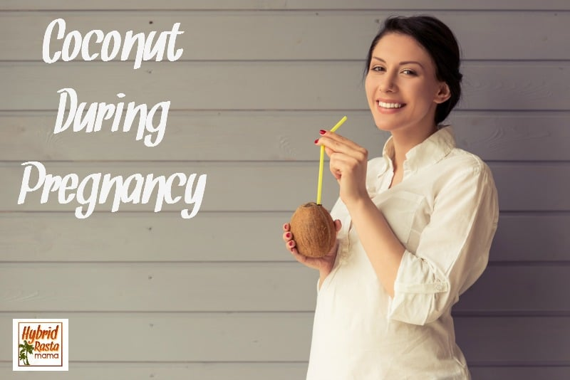 There are many health benefits of consuming coconut during pregnancy. We aren't just talking coconut oil either...coconut and coconut water are key players! Check it out from HybridRastaMama.com.