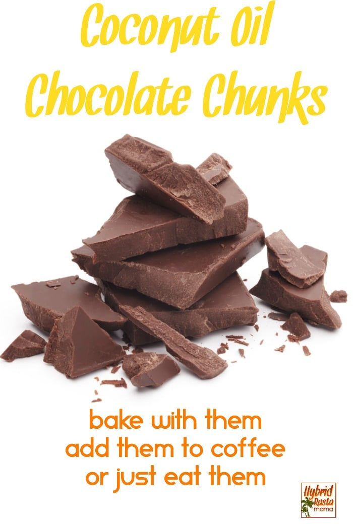 Simplicity. These delicious coconut oil chocolate chunks are full of nourishing coconut oil (hence their name). Healthy, budget-friendly, and quick to make, these little chunks of goodness will have you craving more. #coconutoil #coconutrecipes #chocolaterecipes #chocolatechunks #homemadechocolate #candyrecipes #coconutoilchocolate #recipes