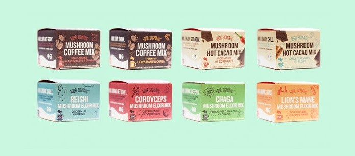 Four Sigmatic Mushroom Coffees, Teas, and Hot Chocolate