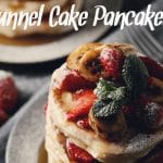Funnel Cake Pancakes (Gluten Free, Egg Free, Dairy Free)