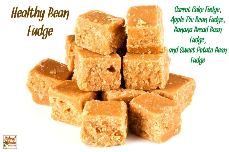 Bean Fudge Gone Wild – 4 delicious and healthy fudge recipes!