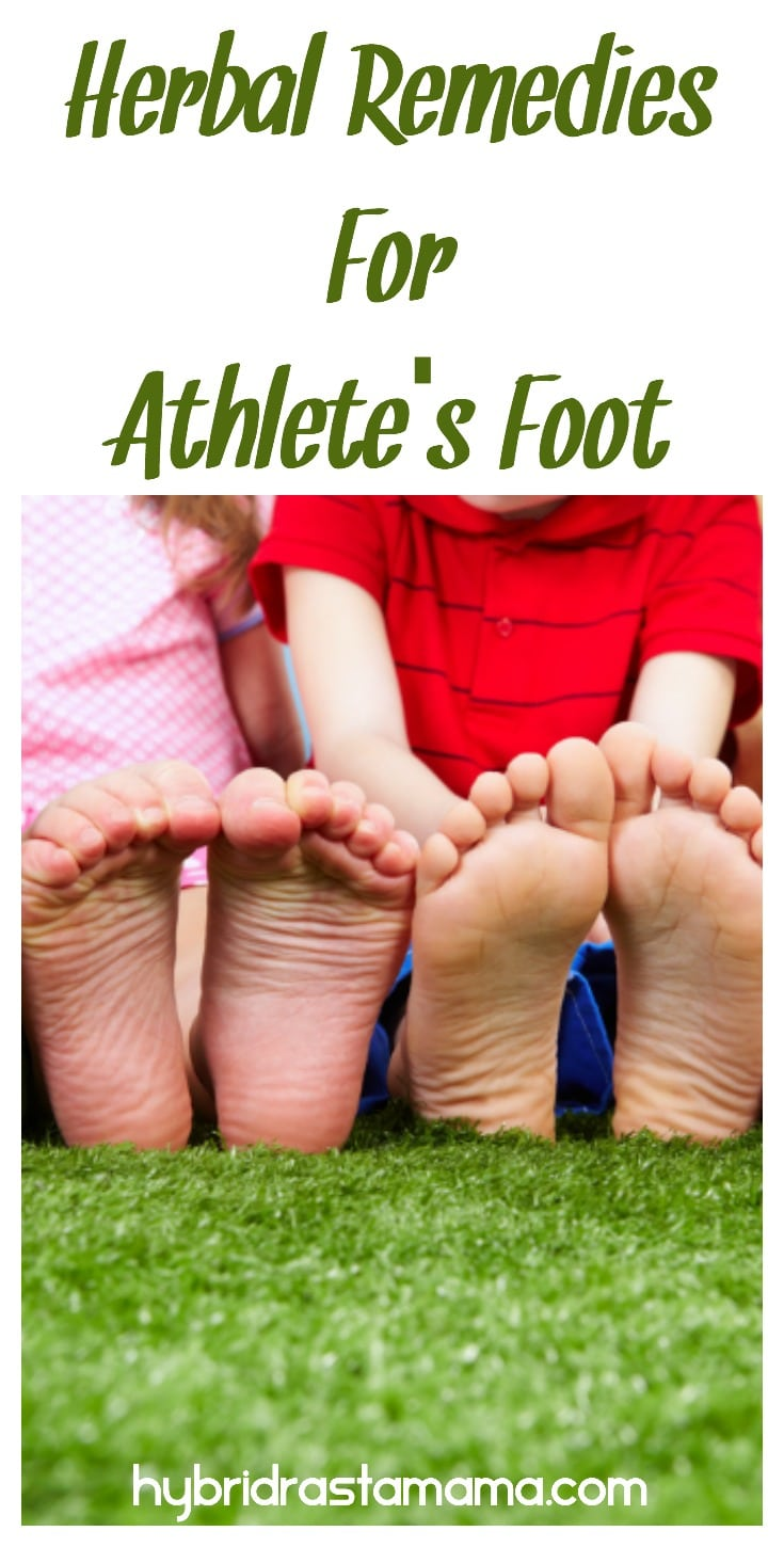 Athlete's foot is certainly an irritating matter. When children get it, it can be downright miserable! Learn how to naturally prevent and treat Athlete's Foot in children. There are lots of great herbal remedies for athlete's foot that children and adults will love. #herbalremedies #athletesfoot #herbs #naturalhealth