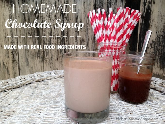 Homemade Chocolate Syrup For The Kid In All Of Us