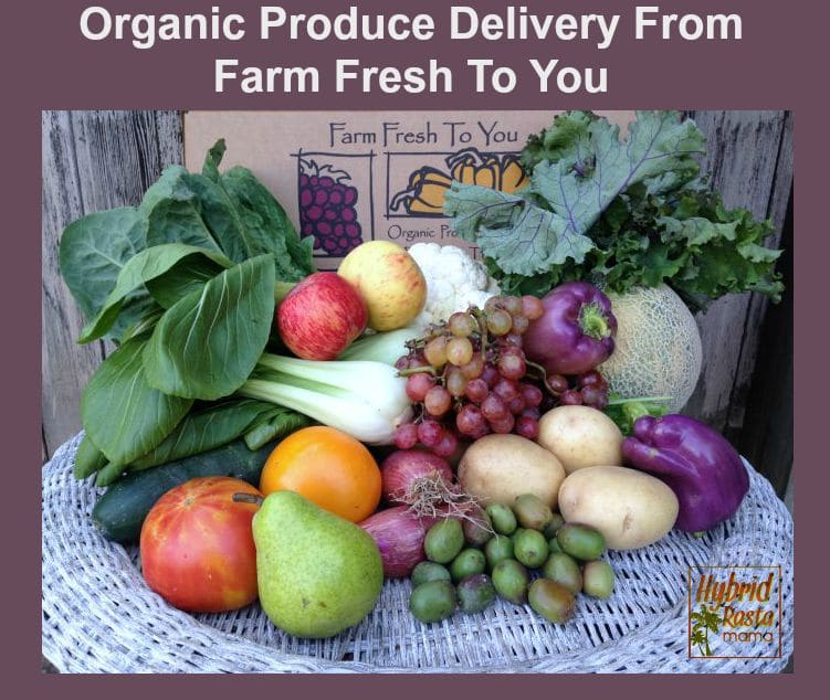 Organic Produce Delivery From Farm Fresh To You from HybridRastaMama.com