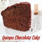 Quinoa Chocolate Cake Recipe