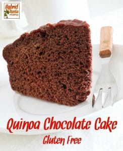 Who doesn't love a rich, chocolatey treat? As far as deserts go, this quinoa chocolate cake is one of the healthiest ones I make. Delicious & nutritious from HybridRastaMama.com.