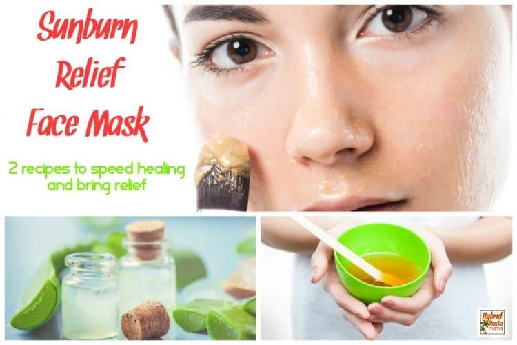 Sunburn Relief Face Mask (2 Ways)