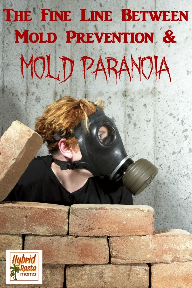 Are you a victim of toxic mold exposure? It's life altering. Moving forward, mold prevention can quickly turn to mold paranoia. So where is the fine line between the two? HybridRastaMama.com explains it all. #toxicmold #prevention #paranoia
