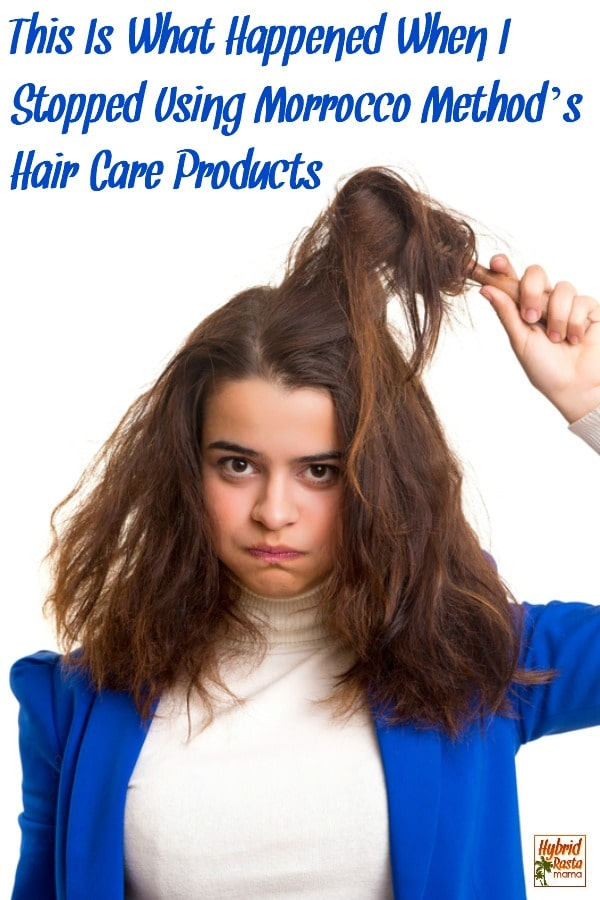 I've been a devotee of Morrocco Method's hair care products since 2014. They revolutionized my hair health. Guess what happened when I stopped using them?