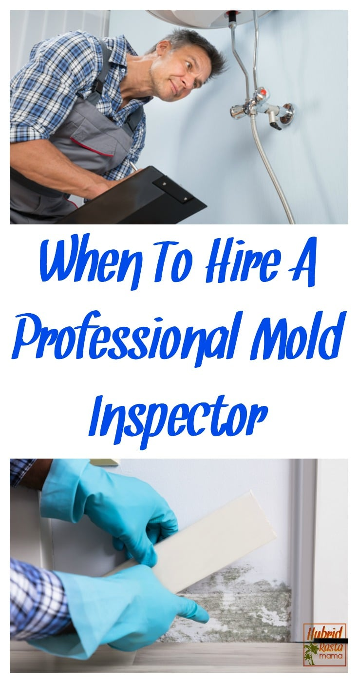 mold inspector taking a moisture reading under a wet baseboard. Mold inspector checking out bathroom plumbing.